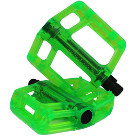 NC-17 CR44 Plastic Pro Pedales, green